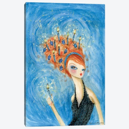 Dreidel, Dreidel, Dreidel Canvas Print #BPR243} by Bella Pilar Canvas Wall Art