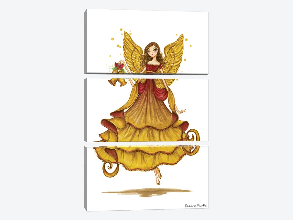 Angel by Bella Pilar 3-piece Canvas Print