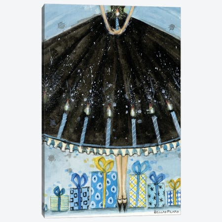 Hannukah Gifts Canvas Print #BPR253} by Bella Pilar Canvas Print