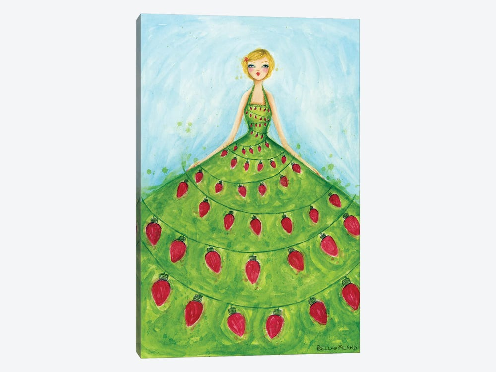 Light-Up Dress 1-piece Canvas Art