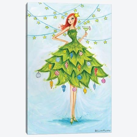 Merry Martini Canvas Print #BPR256} by Bella Pilar Canvas Artwork