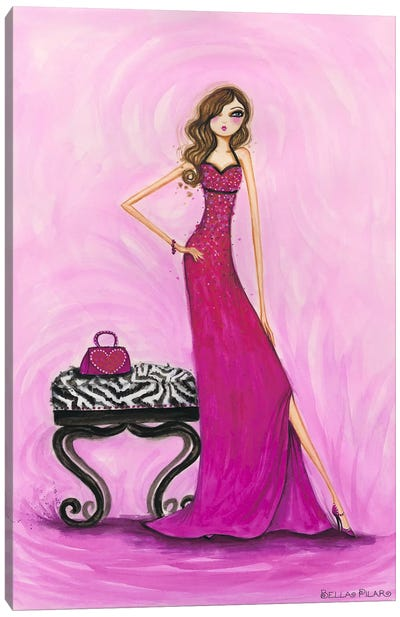 Best dress Gem Dress Canvas Art Print