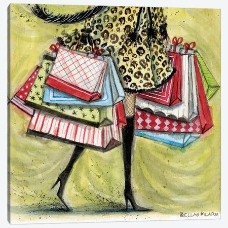 The Shopper Canvas Print #BPR267} by Bella Pilar Canvas Art Print