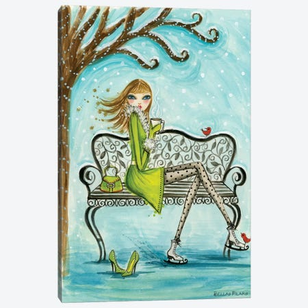 Cocoa Break Canvas Print #BPR270} by Bella Pilar Canvas Print