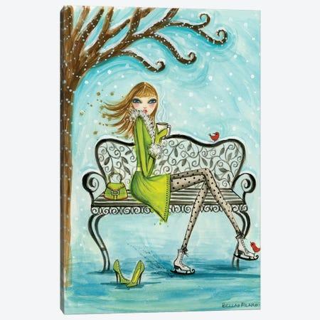 Cocoa Break Canvas Print #BPR270} by Bella Pilar Canvas Print