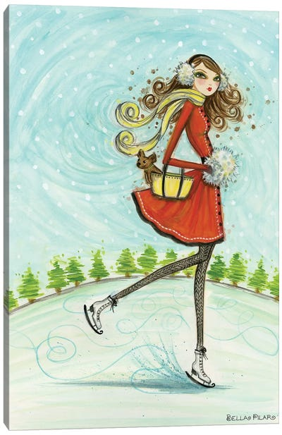 Skate Away Canvas Art Print