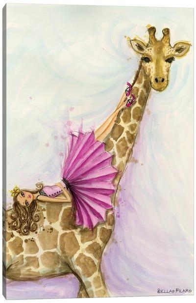 Giraffe Gia Canvas Art Print