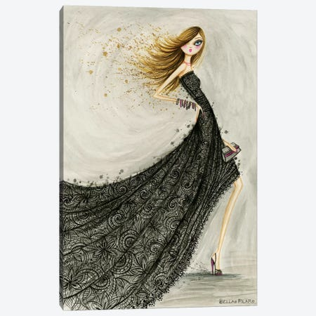 Lovely Lace Canvas Print #BPR276} by Bella Pilar Canvas Art