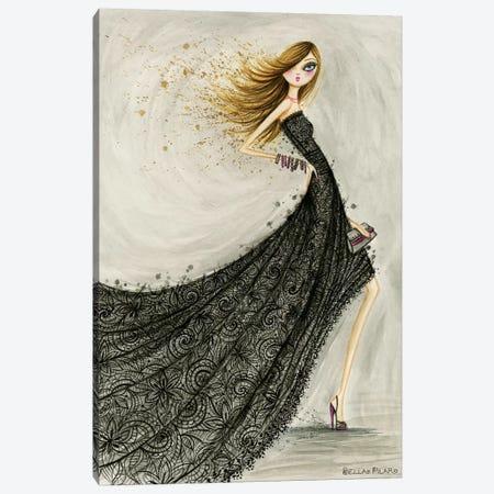 Lovely Lace Canvas Print #BPR276} by Bella Pilar Canvas Art