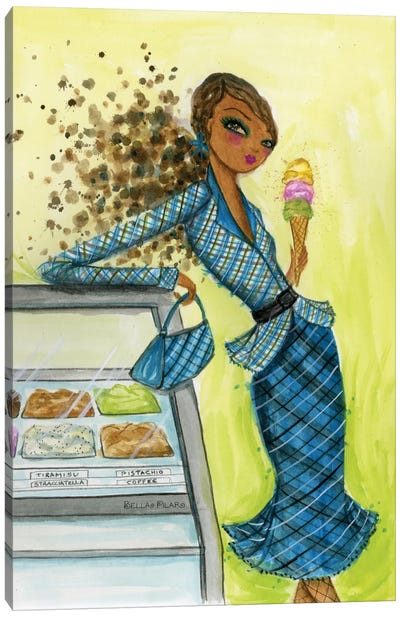 Best dress Ice Cream Dream Canvas Print #BPR27