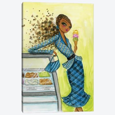 Best dress Ice Cream Dream Canvas Print #BPR27} by Bella Pilar Art Print