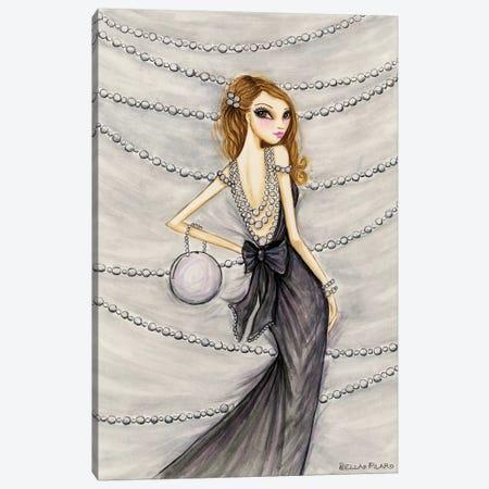 Pretty In Pearls Portia Canvas Print #BPR280} by Bella Pilar Canvas Art