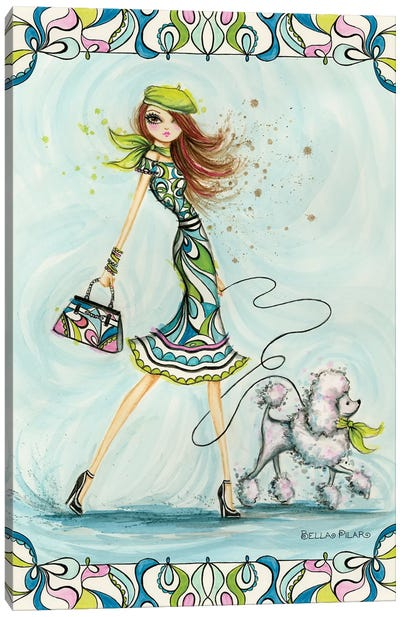 Pucci Glam Canvas Art Print