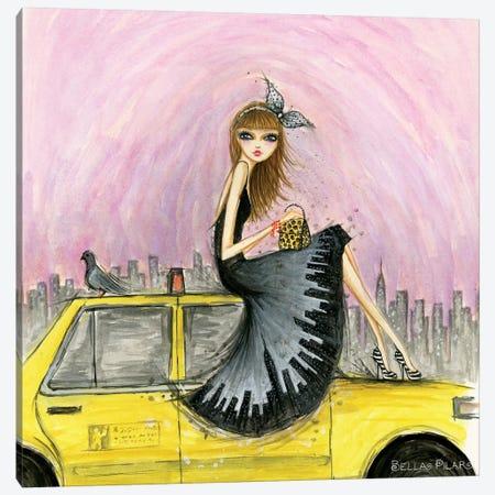 New York Canvas Print #BPR289} by Bella Pilar Canvas Artwork