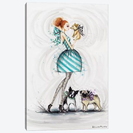 Wishing You Love Canvas Print #BPR292} by Bella Pilar Canvas Print