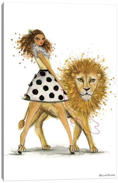 Zodiac Girls Series: Leo Canvas Print #BPR293