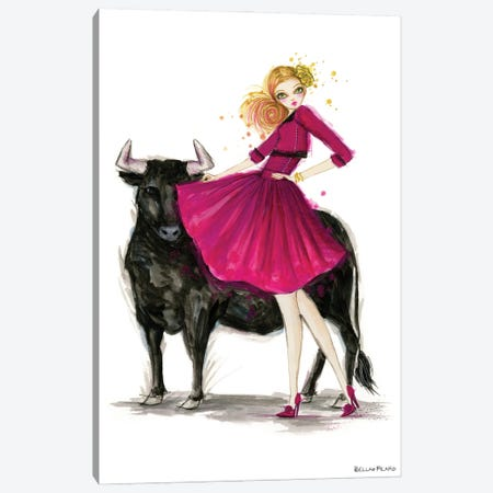 Taurus Canvas Print #BPR294} by Bella Pilar Canvas Art