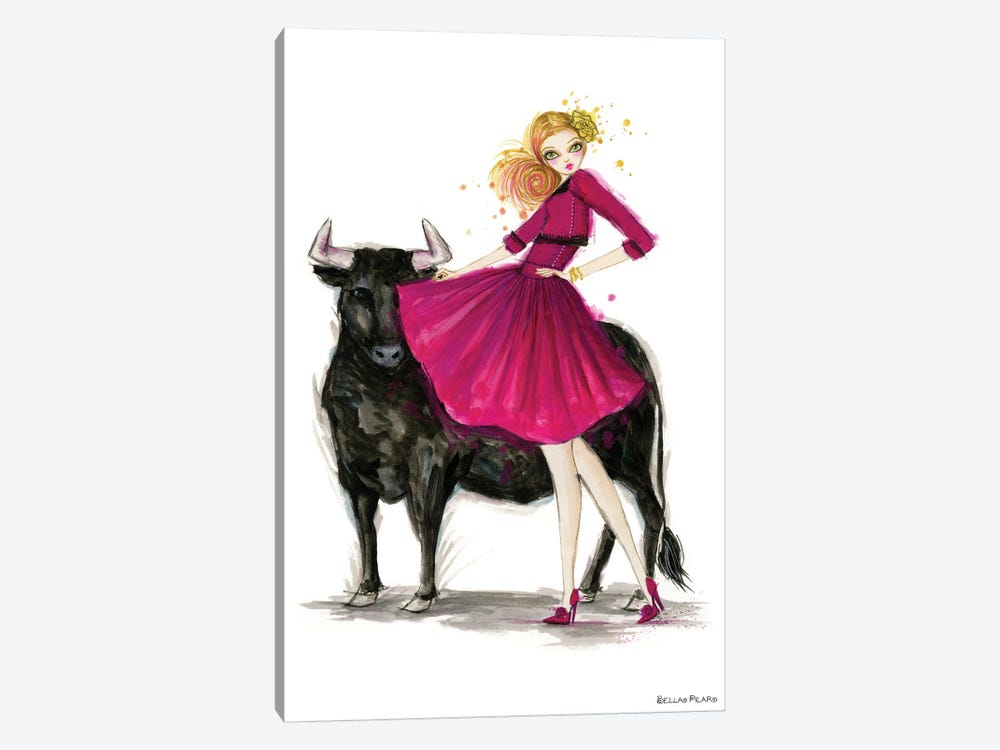 Zodiac Girls Series: Taurus by Bella Pilar 1-piece Art Print