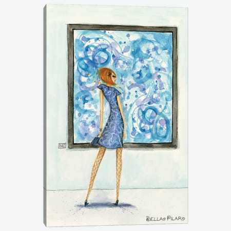 Art Girl Canvas Print #BPR295} by Bella Pilar Canvas Art