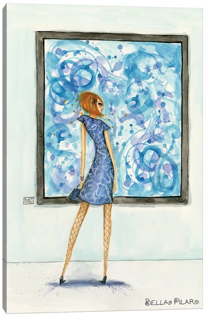 Art Girl Canvas Art Print