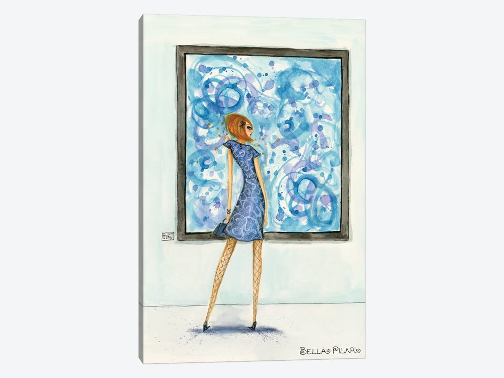 Art Girl by Bella Pilar 1-piece Canvas Wall Art
