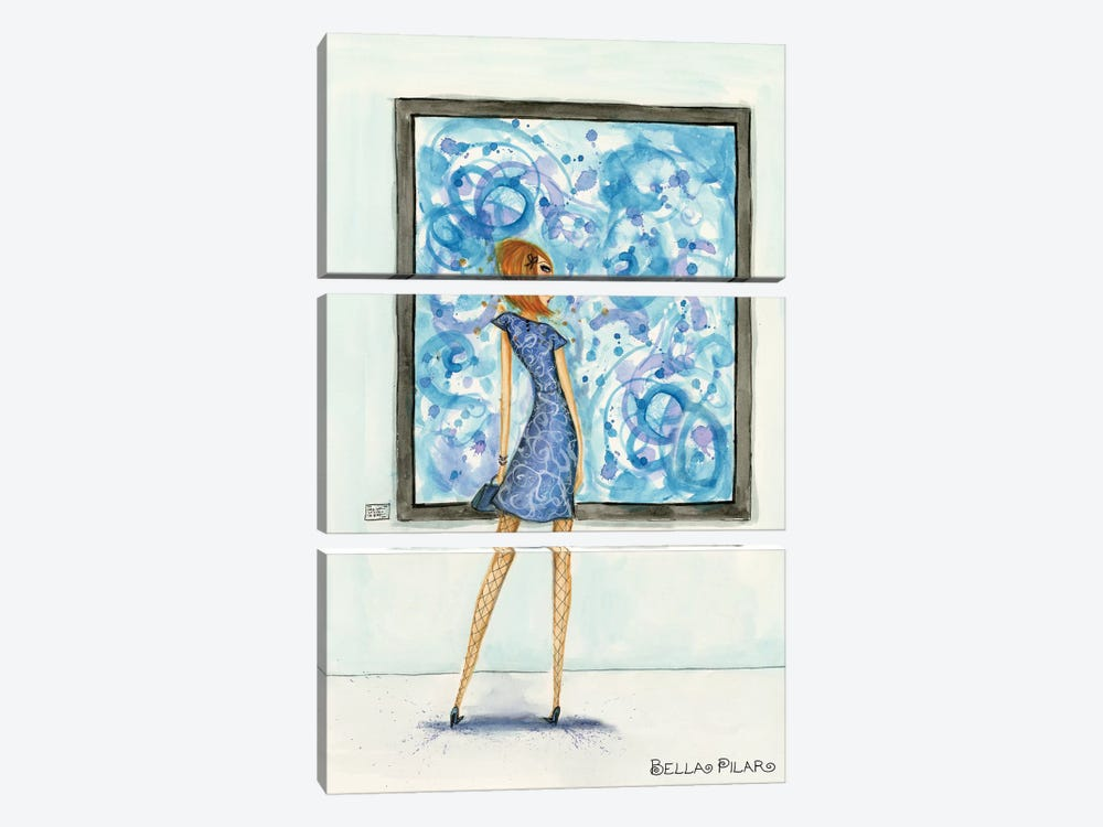 Art Girl by Bella Pilar 3-piece Canvas Wall Art