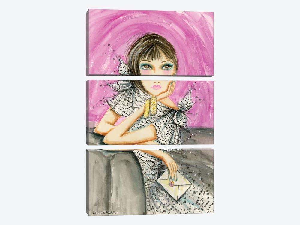 Deborahs Letter by Bella Pilar 3-piece Canvas Artwork