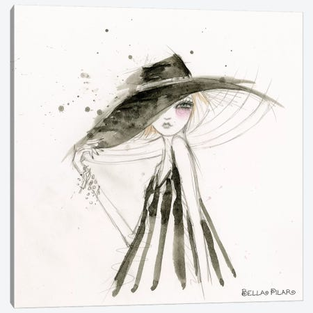Fashion Alana Canvas Print #BPR300} by Bella Pilar Canvas Art Print