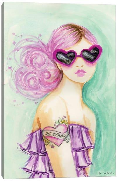 Bold & Bright XOXO Canvas Art Print