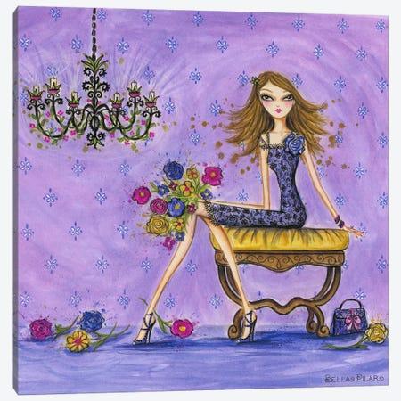 Best dress Very Violet Canvas Print #BPR31} by Bella Pilar Canvas Art Print