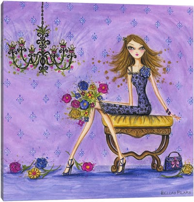 Best dress Very Violet Canvas Art Print