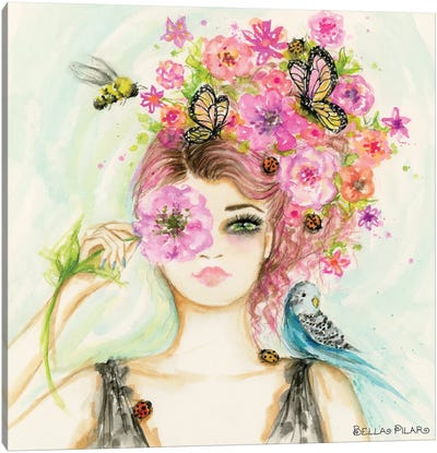 Spring Is Here Main Canvas Art Print