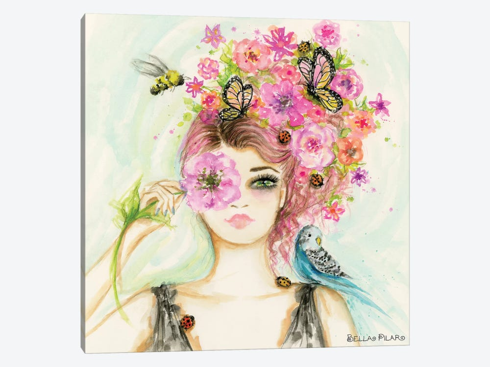 Spring Is Here Main by Bella Pilar 1-piece Art Print