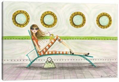 Ahoy Delia On Deck Canvas Print #BPR3