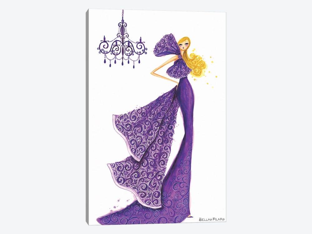 Couture Lace by Bella Pilar 1-piece Canvas Artwork