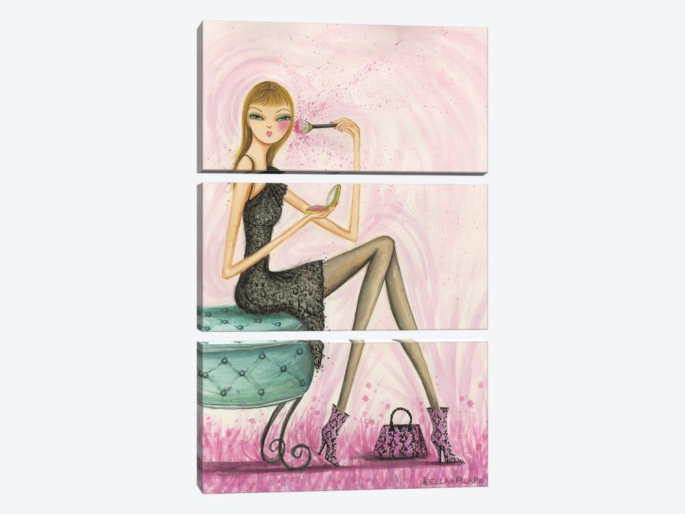 Blushing Beauty by Bella Pilar 3-piece Art Print
