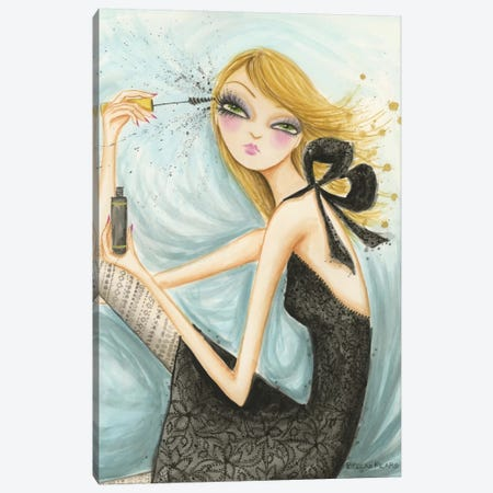 Girls Best Friend Canvas Print #BPR47} by Bella Pilar Art Print