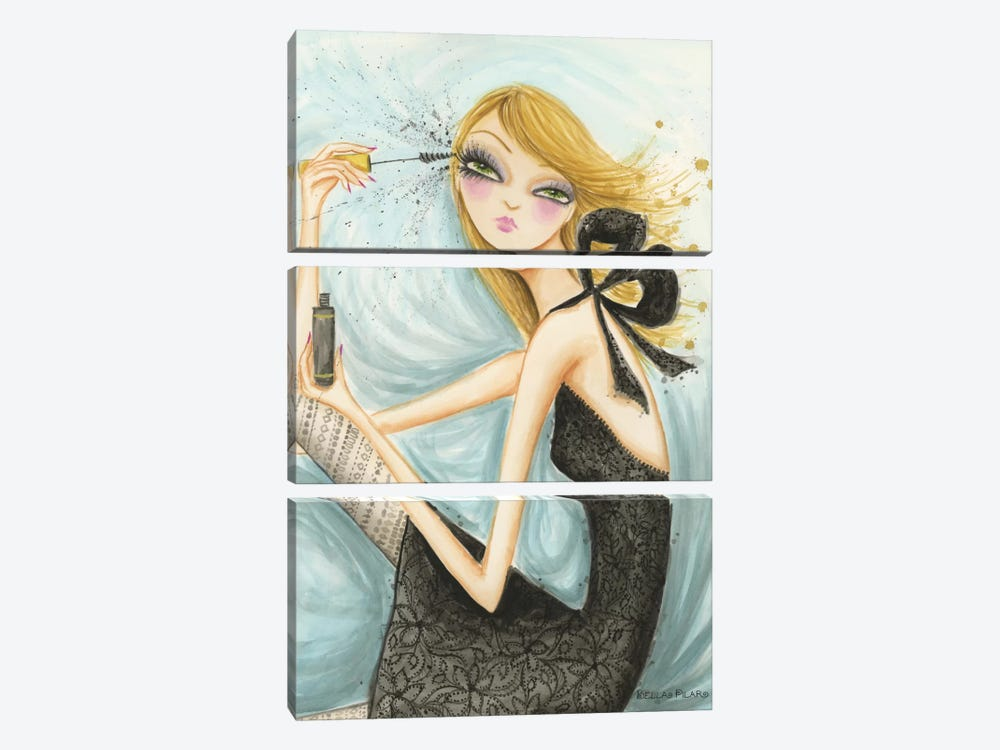 Girls Best Friend by Bella Pilar 3-piece Canvas Art Print