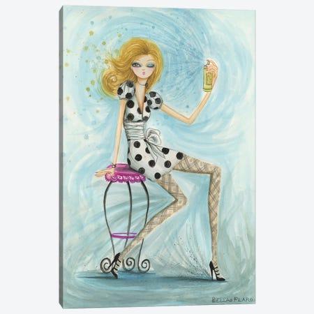 Hairspray Canvas Print #BPR48} by Bella Pilar Canvas Artwork