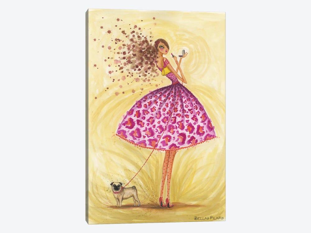 Kissable by Bella Pilar 1-piece Canvas Art Print