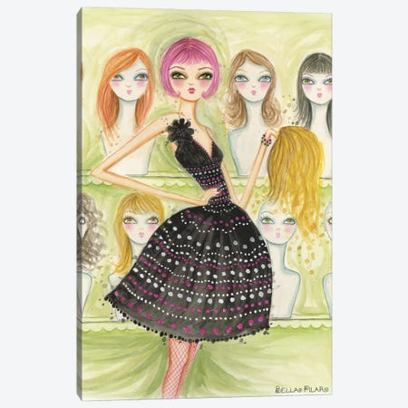 New Do Canvas Print #BPR52} by Bella Pilar Canvas Print