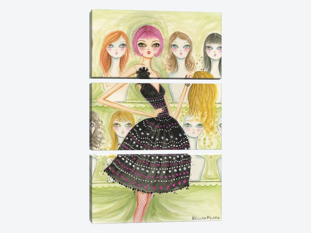 Date Night: New Do by Bella Pilar 3-piece Art Print