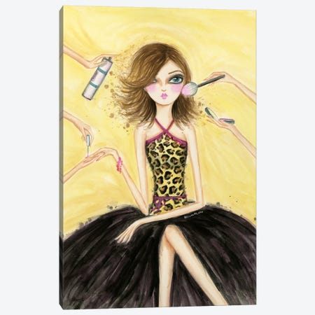 Pamper Yourself Canvas Print #BPR53} by Bella Pilar Canvas Art Print