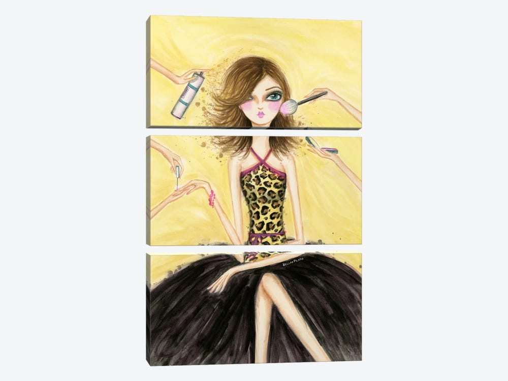 Date Night: Pamper Yourself by Bella Pilar 3-piece Canvas Artwork