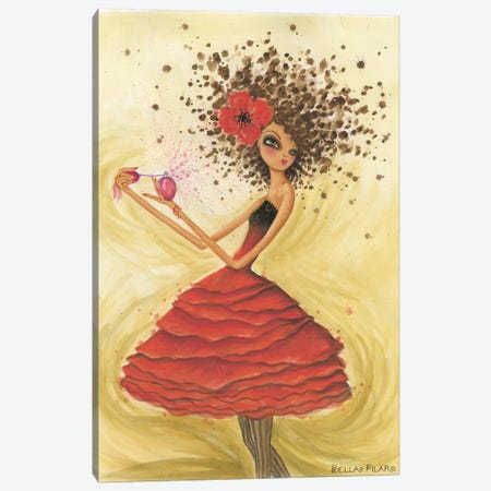 Perfume Canvas Print #BPR55} by Bella Pilar Canvas Wall Art