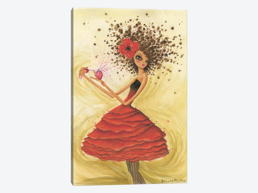 Perfume by Bella Pilar 1-piece Canvas Wall Art