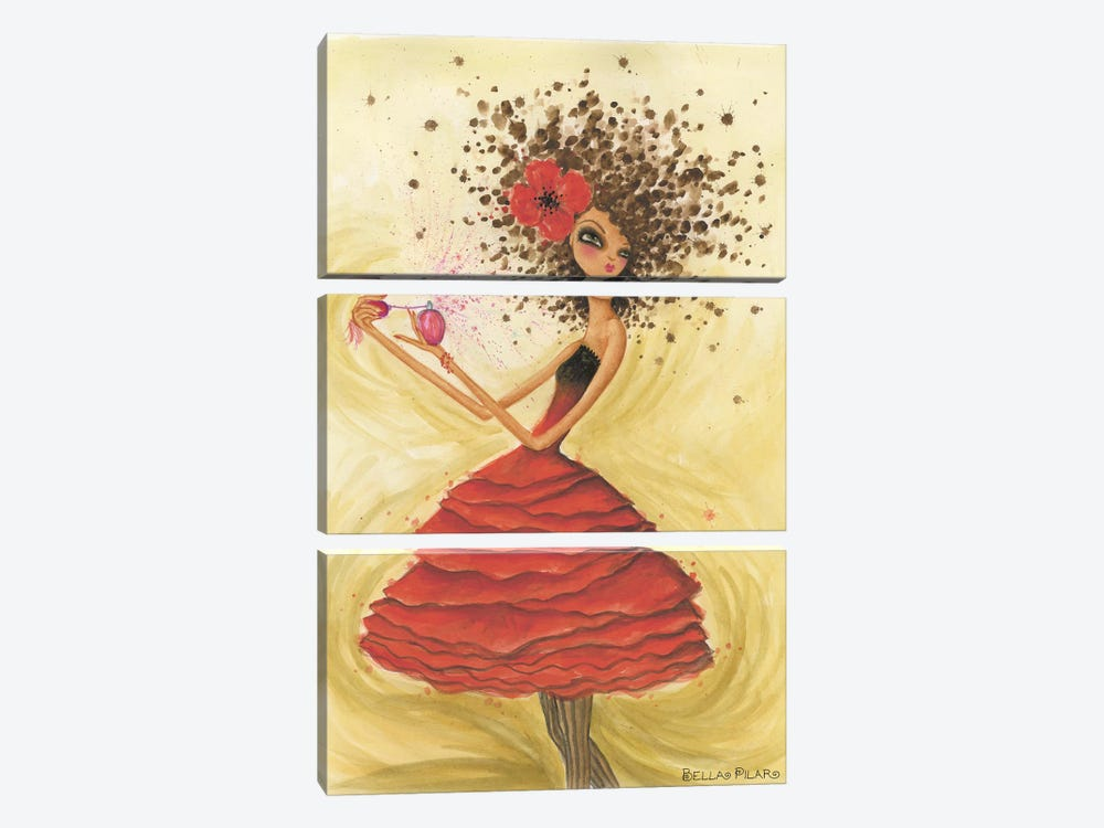 Perfume by Bella Pilar 3-piece Canvas Wall Art