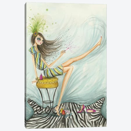 Sunday Afternoon Canvas Print #BPR58} by Bella Pilar Art Print