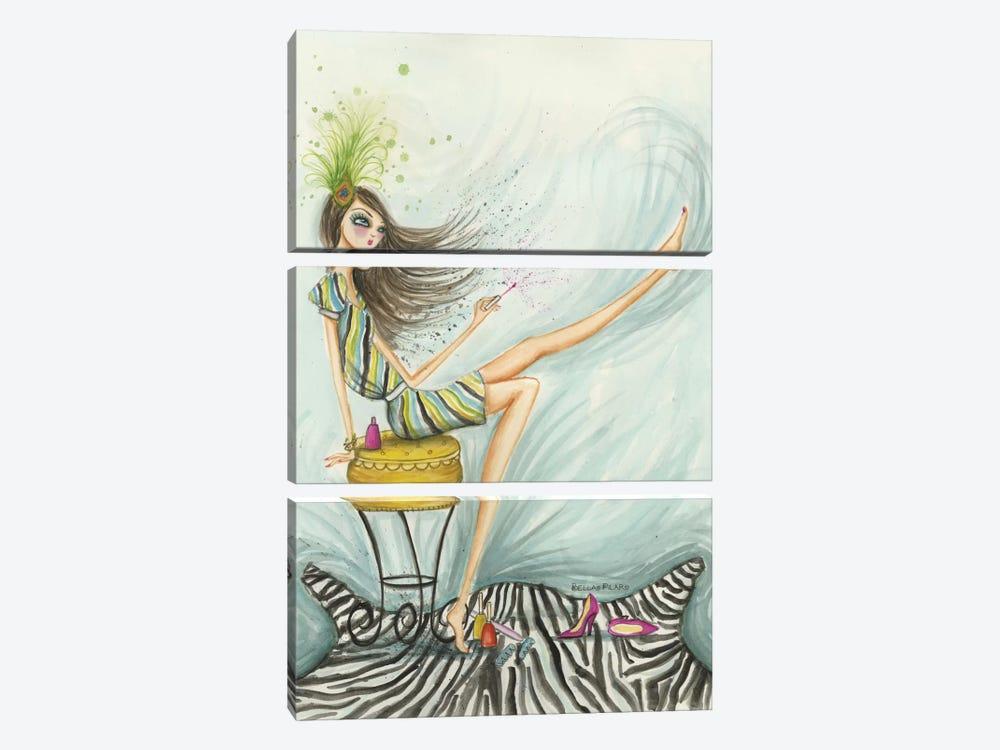 Sunday Afternoon by Bella Pilar 3-piece Canvas Art Print