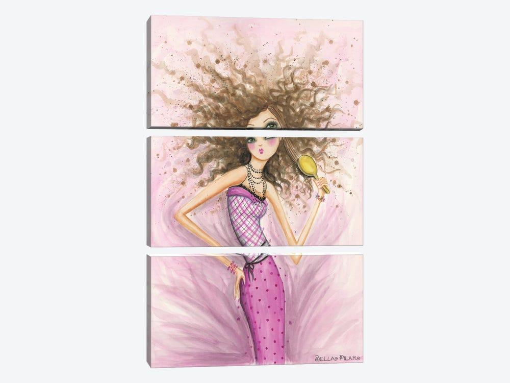 Unruly by Bella Pilar 3-piece Canvas Artwork